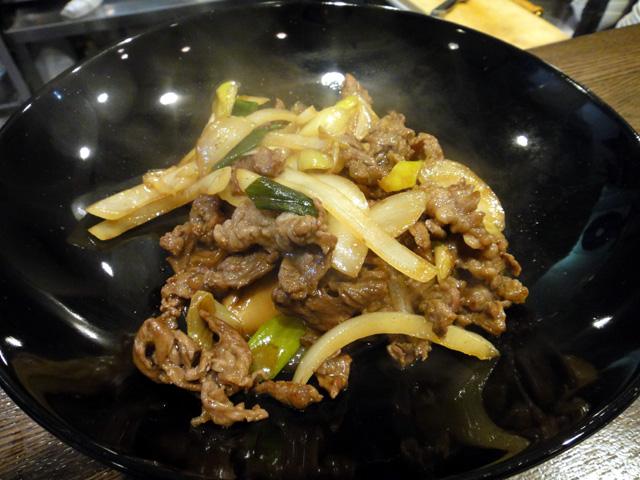 野菜と牛肉のすき焼き炒め?
