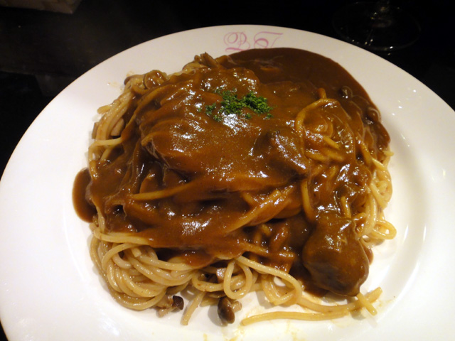 名物スパゲッティーカレーソース