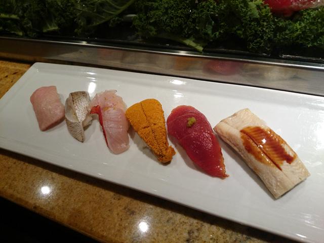 そして寿司 :)